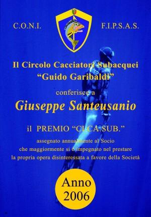 2006 - Giuseppe Santeusanio