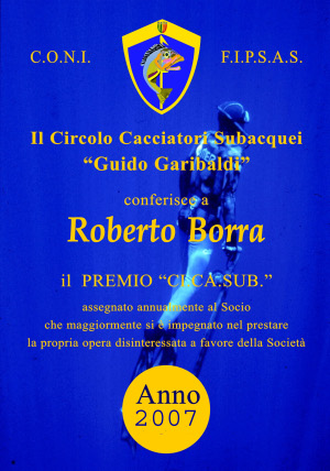 2007 Roberto Borra
